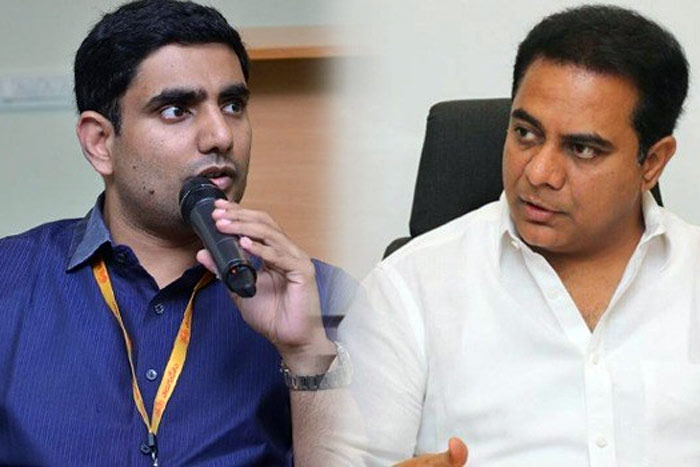 'KTR Called 10 TDP MLAs To Contest on YCP'