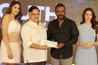 Chiru Sends A Gift to Lawrence