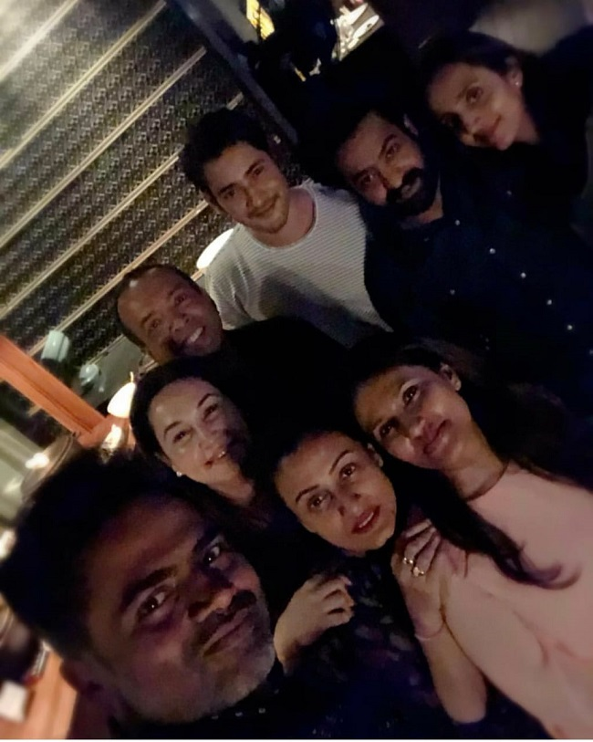 Pic Talk: Party time for Mahesh Babu and NTR