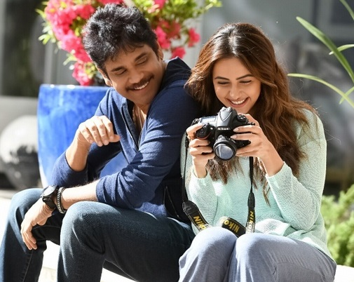 Manmadhudu 2 Movie Working Stills – Nagarjuna,Rakul Preet Singh