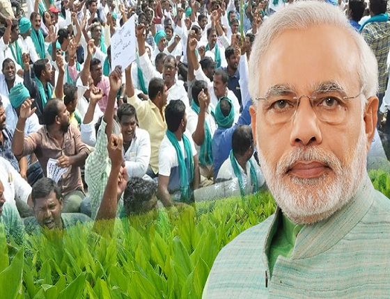 PM Modi to Face the Heat of Nizamabad Farmers