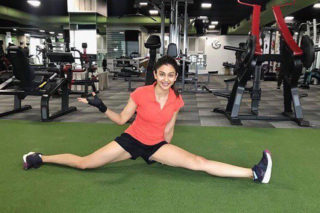 Rakul's new gym video is all about fitness goals