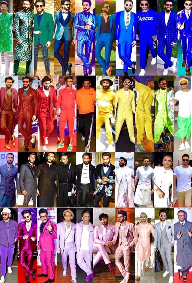 Pic Talk: Look At The Whacky Fashion Sense of Ranveer