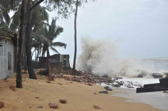 Pics: Cyclone Fani, One of the Biggest Storms Ever