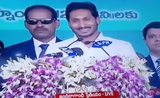 Jagan Mohan Reddy takes oath as Andhra Pradesh CM