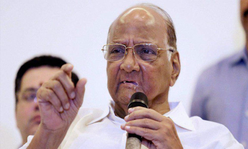 'Saw my vote gone to BJP': NCP Chief
