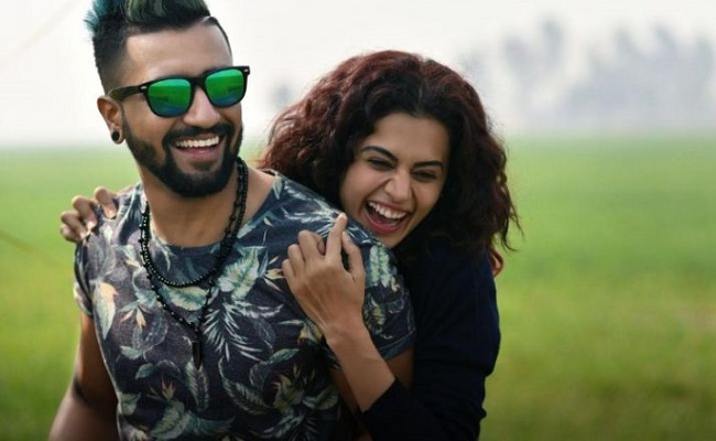 Taapsee: 'All men are a**h*les but Vicky is the best'