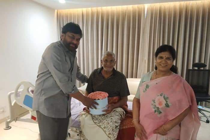 Megastar meets ailing Murali Mohan