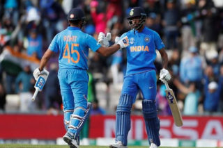 Cricket WC: Rohit Ton Helps India Make Good Start