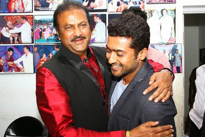 Mohan Babu In Suriya's Next Film