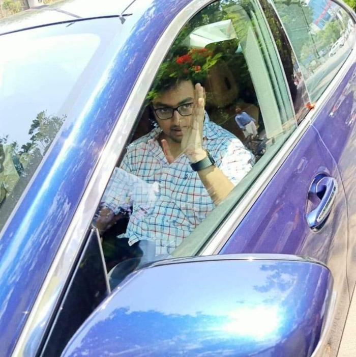 Pic Talk: Mokshagna Makes The Rumours True