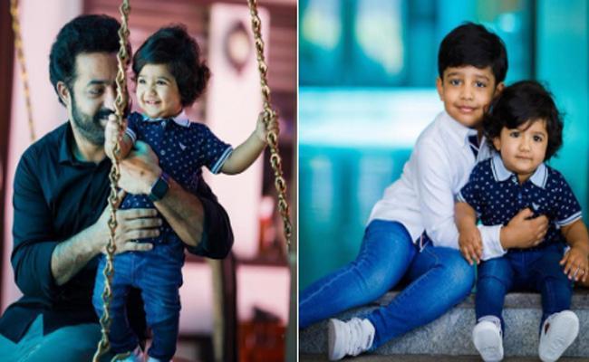 Pic: Jr NTR Younger Son Bhargav Ram Turns One Year