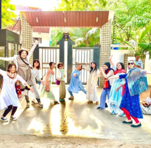 Viral photo: Prabhas' Japanese Fans In Front Of His Residence