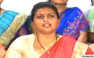 More than Jagan cabinet, Roja makes news!