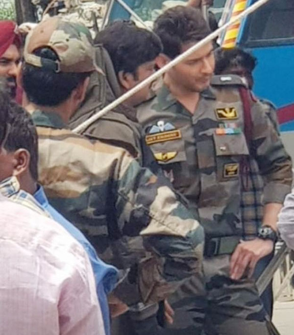 Mahesh's Leaked Army Look Gets Mixed Response