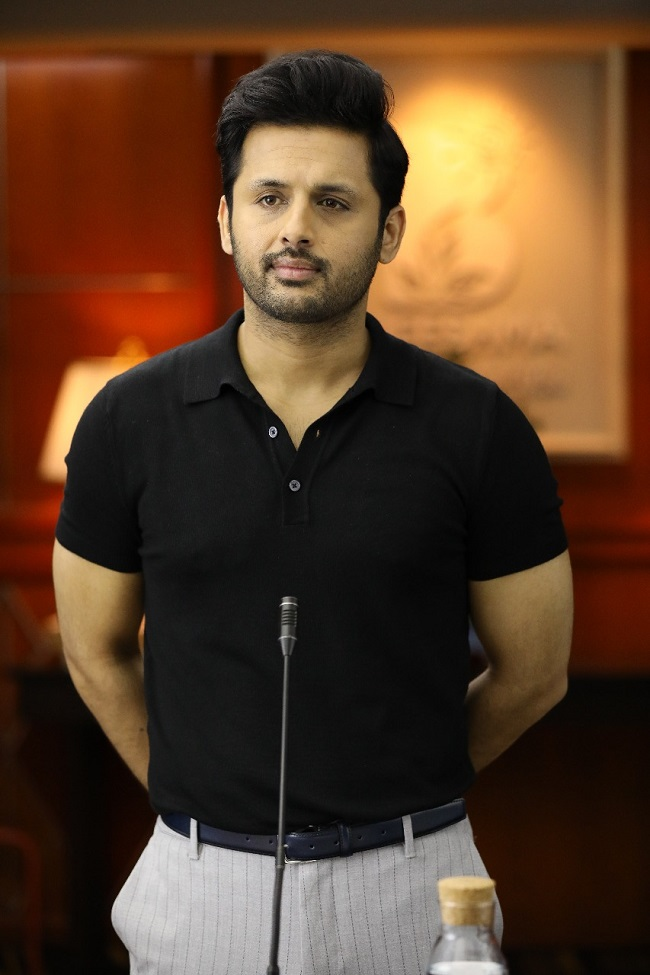 Exclusive: First Look of Nithin As Bheeshma!