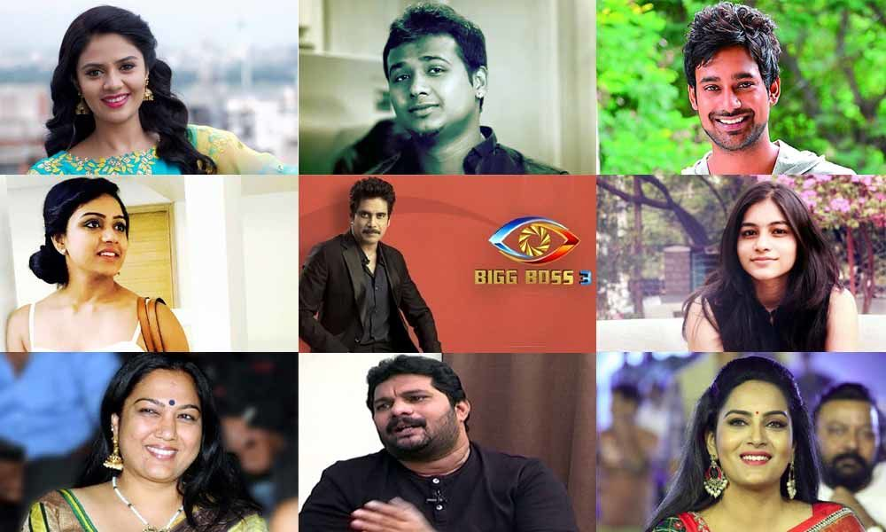 #BiggBoss3: Here Are The Finalised 15 Contestants
