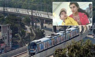 Brahmani, Devansh take Metro ride!