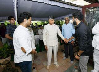 Chandrababu Meets Jr NTR