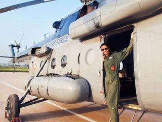 Meet India's First Woman Flight Commander
