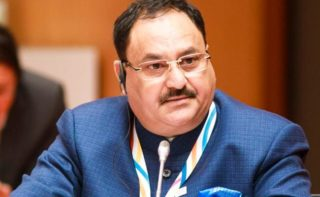 Nadda discusses poll strategy with T'gana BJP leaders