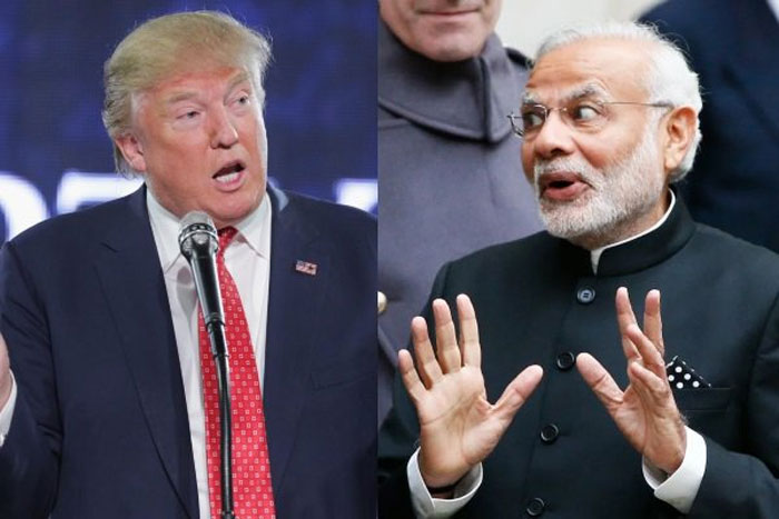 PM Modi speaks to Trump over Phone