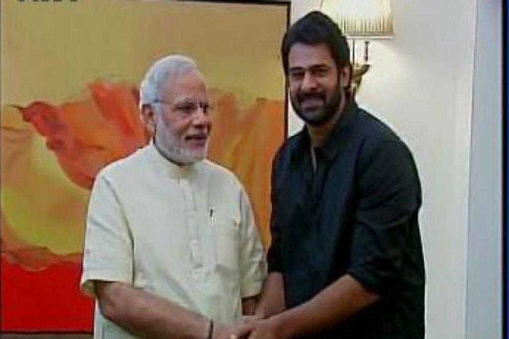 Prabhas Recalls Modi's Suggestion