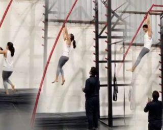 Watch: Samantha Impressing With Risky Stunts