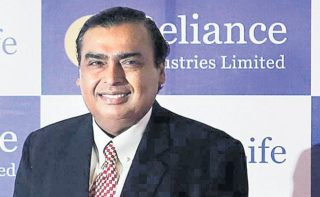 Mukesh richest Indian with Rs 3.8 lakh cr fortune