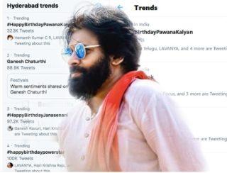 #HappyBirthdayPawanKalyan Trending Top In India