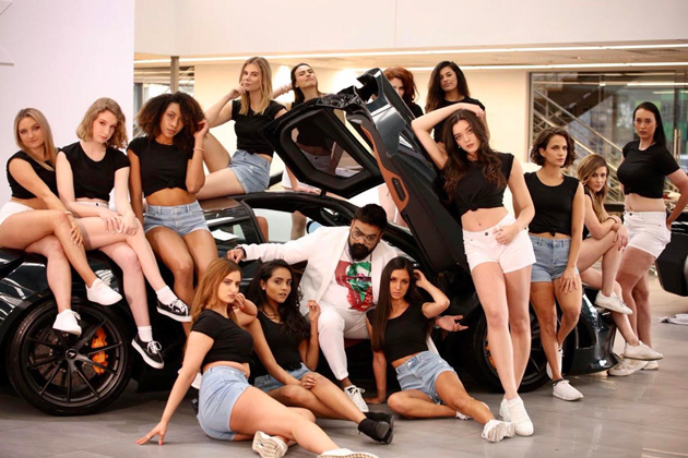 That Producer Loves Women & Cars..!