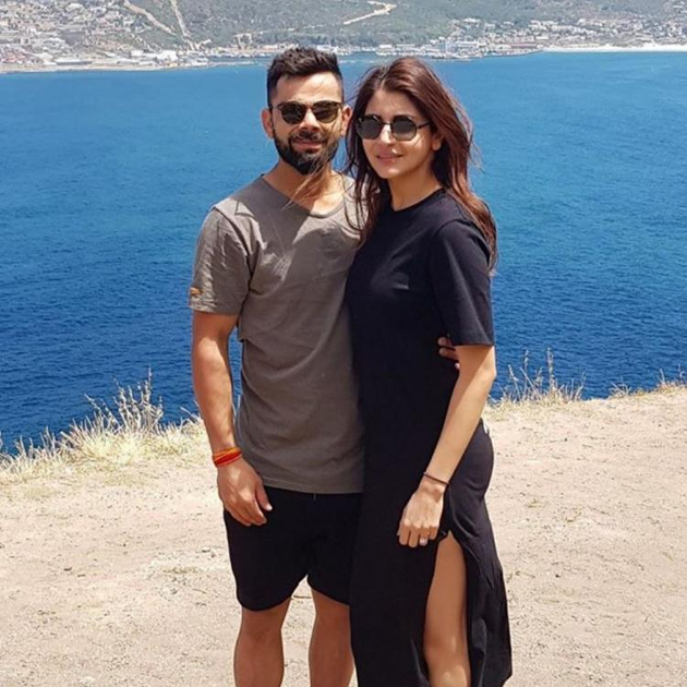 Photo Story: Virushka's Adorable Click In Picturesque Spot!