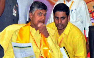 Amaravati@4: Naidu, Lokesh crying!