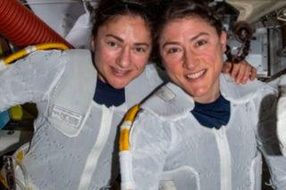 Watch: First ever all-women spacewalk