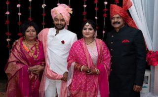 Exclusive Pics: Actor Brahmaji's Son Gets Married