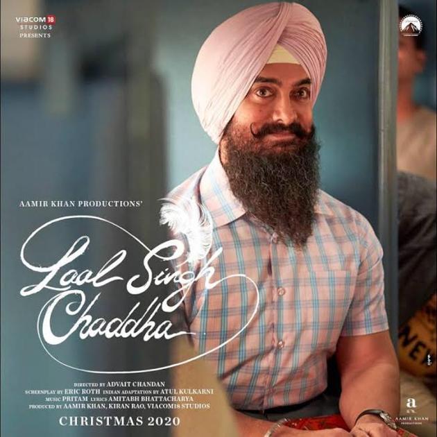 Poster Alert: Aamir Khan As Laal Singh Chaddha!