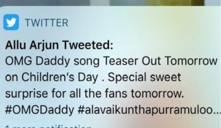 Oops! Allu Arjun Leaked 'Children's Day' Announcement