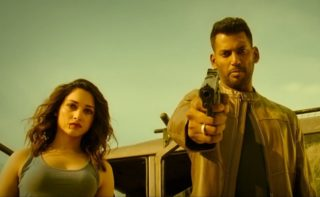 Vishal's Action Trailer: High Octane Visuals
