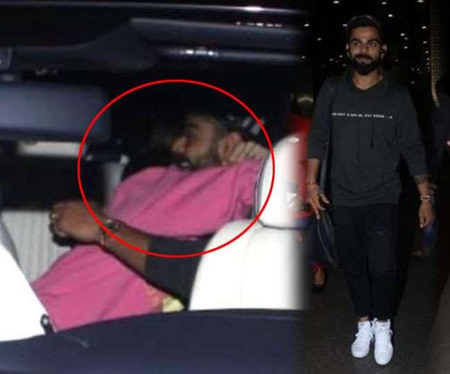 Pics: Anushka welcomes Kohli with a Romantic Hug