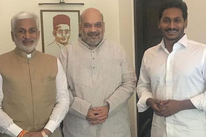 Jagan Issue: Amit Shah Serious on Vijay Sai Reddy?