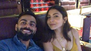 Pic: Kohli and Anushka's movie time is couple goals