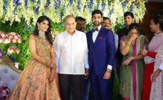 Celebs @ Wedding Reception of Krishna's Nephew