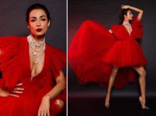 pHOTo Alert: Red Hot Malaika!