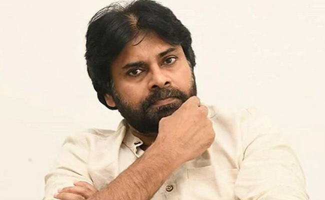 Red to saffron: Pawan changes colours!