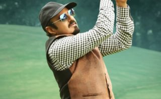 Pic Talk: Balakrishna's Perfect Straight Drive