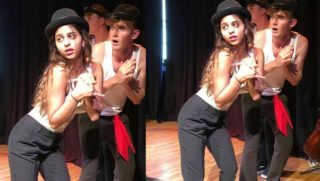 Suhana's college pic from her play in NYC