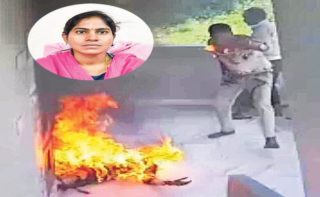 Driver of woman official burnt alive in Hyd succumbs