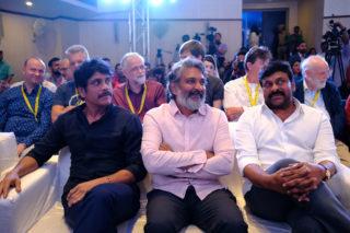 Pic Talk: When Chiru, Rajamouli And Nag Sat Together