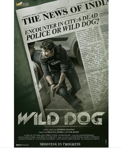 First Look: Nagarjuna Dashing As Wild Dog