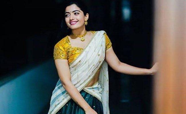 Singles Anthem Makes Rashmika Do The Happy Dance Manatelugumovies Net
